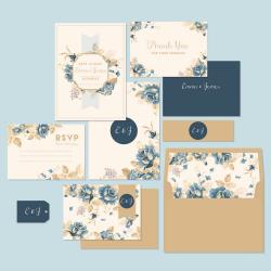invitationer med flot og kreativt design